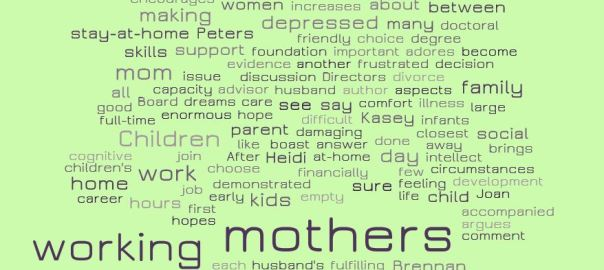 Free working mothers Essays and Papers - 123HelpMe com